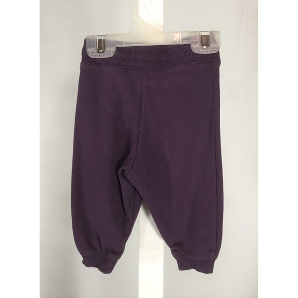 H & M Purple Sweatpants - size 2 to 4 months