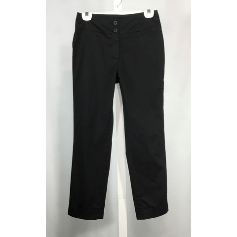 Cleo Black Cotton Pants - Discoveries size S