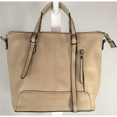 David Jones Tan Handbag