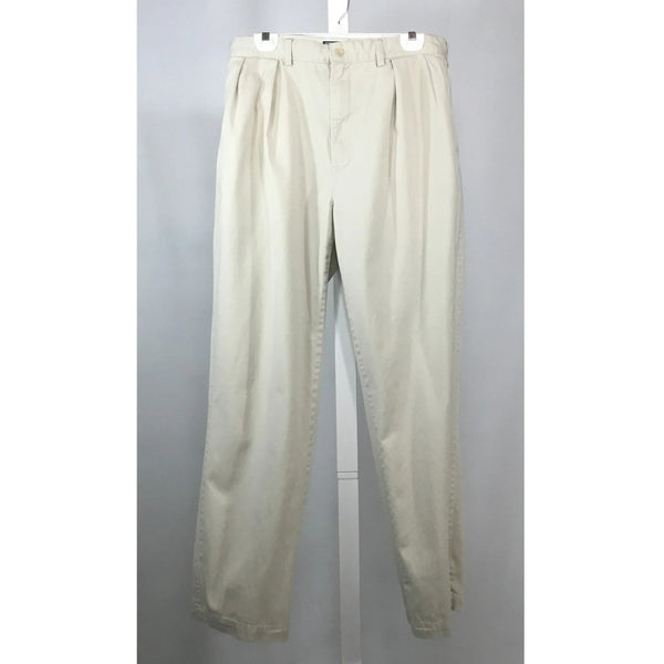 Polo pleated chino pants