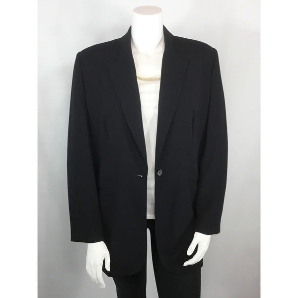 Nygard Dark Navy Jacket - Discoveries size L