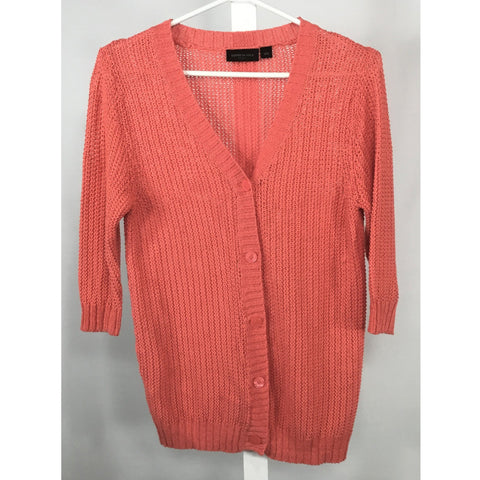 Kenneth Cole Coral Cardigan - Discoveries size M