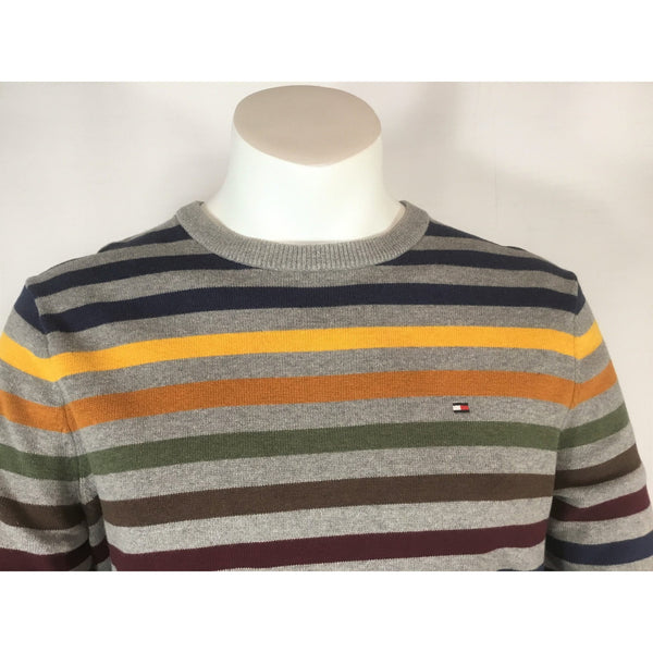 Tommy Hilfiger Striped Cotton Sweater - size M