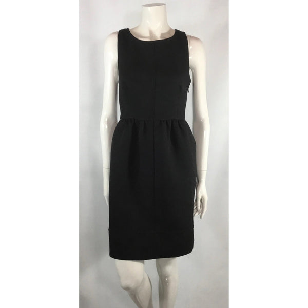 Maeve Cross Back Black Dress - Discoveries size M