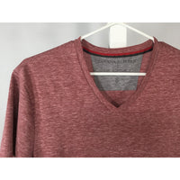 Banana Republic Red Heather Tee - size S