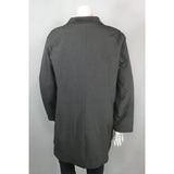 Athletic Works grey coat back view