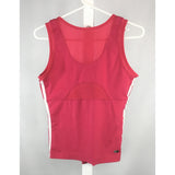 Adidas pink tank top back view