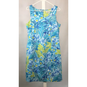 Jessica turquoise shift dress