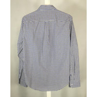 American Eagle check shirt back view