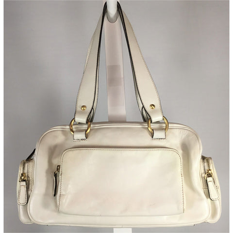 Danier White Leather Purse