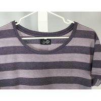 Cheap Monday Purple Striped Tee - size S