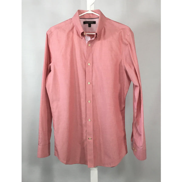 Banana Republic Light Red Dress Shirt - size M