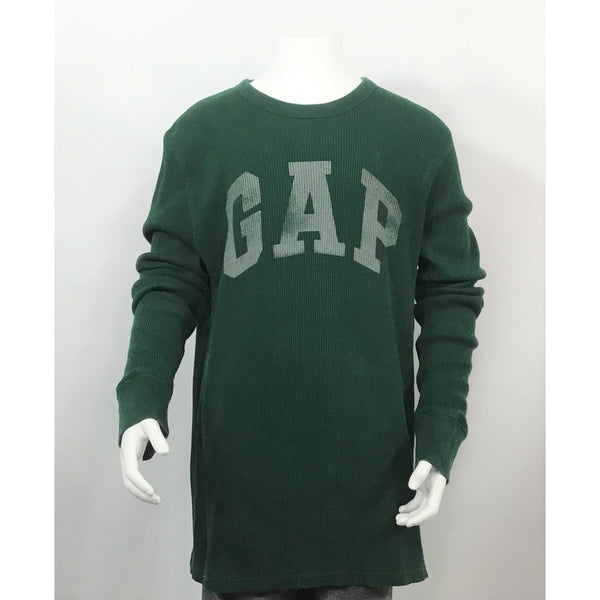 Gap dark green logo tee
