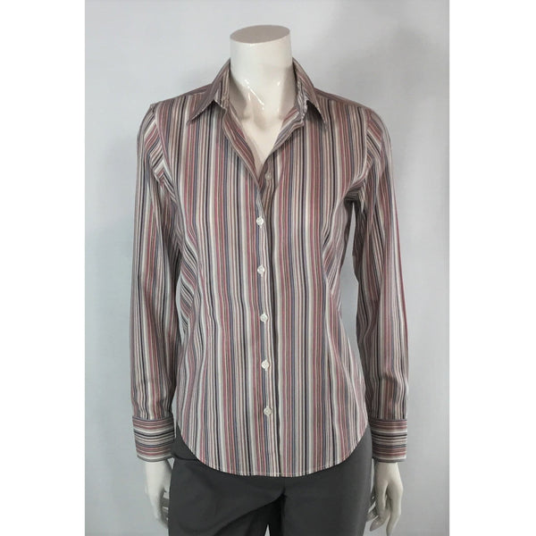Eddie Bauer striped shirt