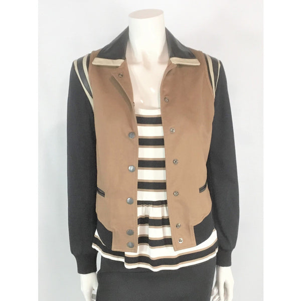 Banana Republic top and Diesel jacket