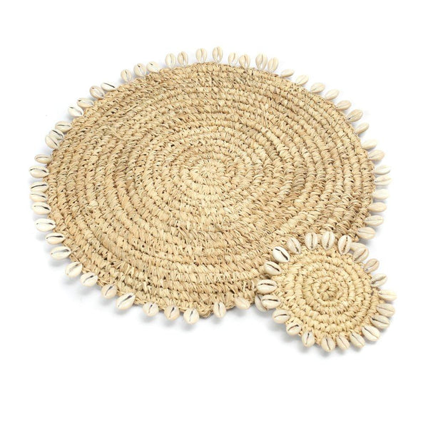 L.Naturel Concept Store - The Raffia Shell Placemat