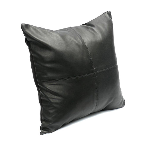 L.Naturel Concept Store - The Four Leather Panel Cushion