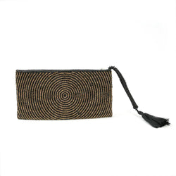 L.Naturel Concept Store - The Golden Beaded Clutch