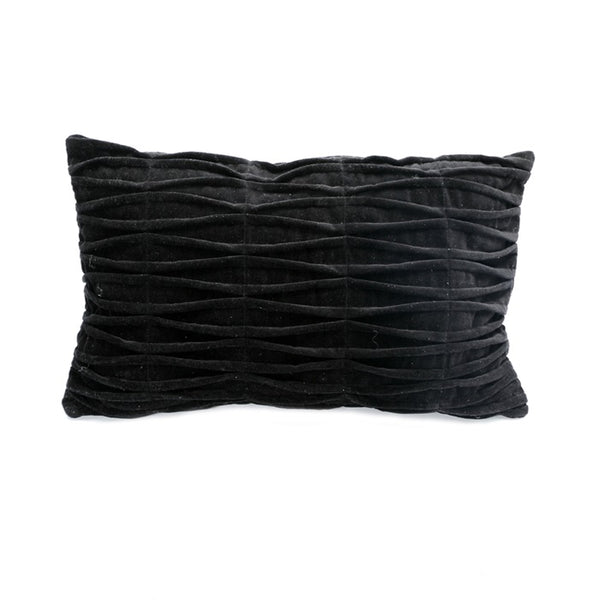 The Fringed Velvet Cushion