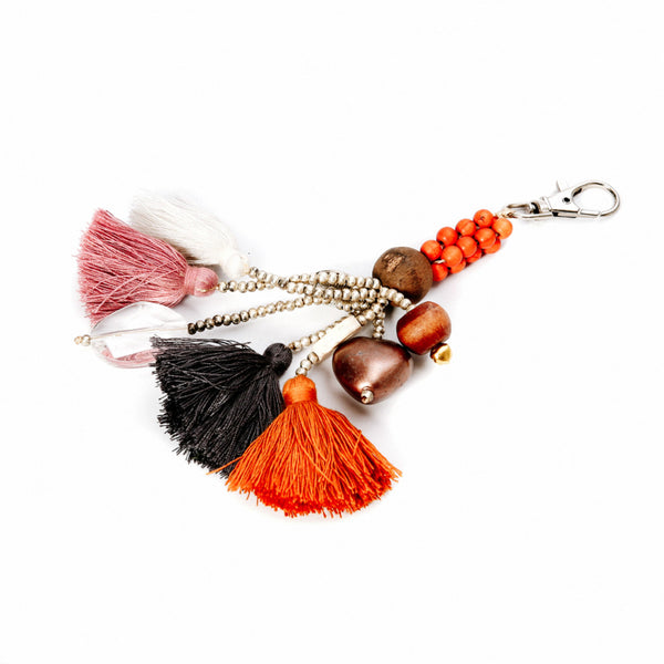 The Fun Tassels Keychain