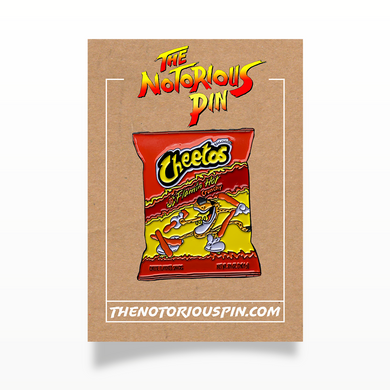 Hot Cheetos Enamel Pin