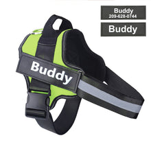 Load image into Gallery viewer, HarnessBuddy™ Personalized Dog Harness