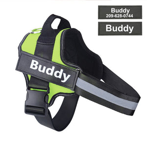 HarnessBuddy™ Personalized Dog Harness