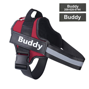 HarnessBuddy™ Personalized No-Choke Dog Harness - HarnessBuddy