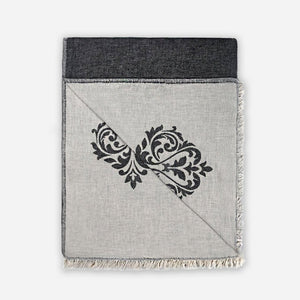 Damask Bed Blanket