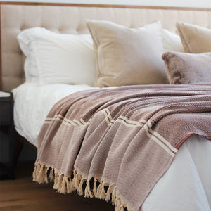 Hand Loomed Bed Blanket