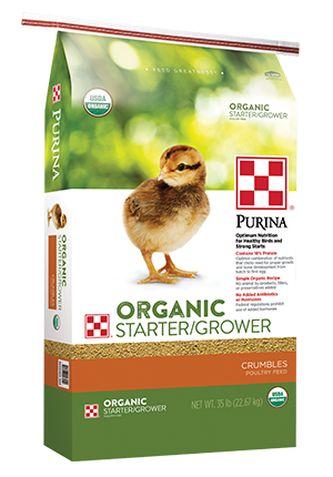 Purina Organic Starter-Grower Crumble