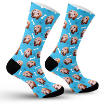 Load image into Gallery viewer, Dog Face Socks