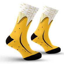 Load image into Gallery viewer, Banana Peel Socks