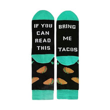 Load image into Gallery viewer, Bring Me Tacos Socks