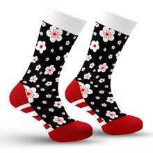 Load image into Gallery viewer, Cherry Blossoms Socks