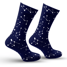 Load image into Gallery viewer, Orion's Belt Constellations Socks
