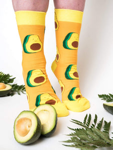 Yellow Avocado Socks