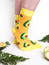 Load image into Gallery viewer, Yellow Avocado Socks