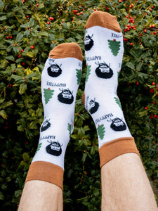 Happy Tree Socks