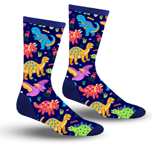 Dinosaur Party Socks