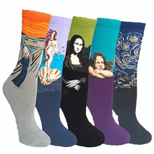 Load image into Gallery viewer, Famous Painting Sock Bundle