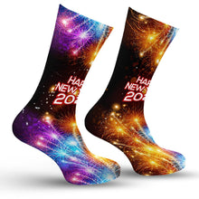 Load image into Gallery viewer, New Years Eve Socks