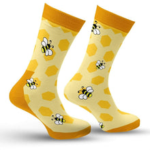 Load image into Gallery viewer, Honey Bee Socks