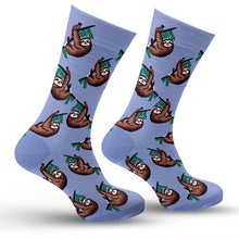 Load image into Gallery viewer, Sloth Socks