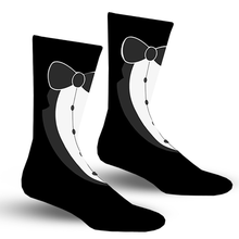 Load image into Gallery viewer, Tuxedo Socks