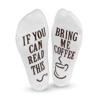 If You Can Read This! Coffee Socks