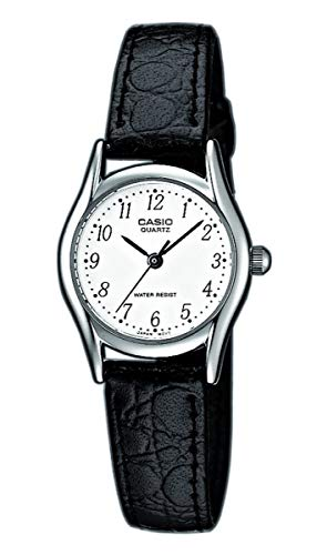 Casio Damen Analog Quarz mit Leder Armbanduhr LTP1154PE7BEF - Best-dealz24