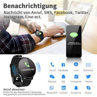 COULAX Smartwatch Fitness Armband Uhr IP67 Wasserdicht - Best-dealz24