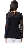 Black Magic Long Sleeve Blouse