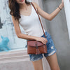 Women Vintage Leather Crossbody Bag